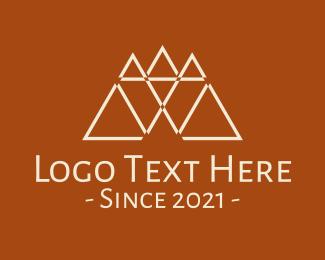 Business - Triangular Letter W logo design