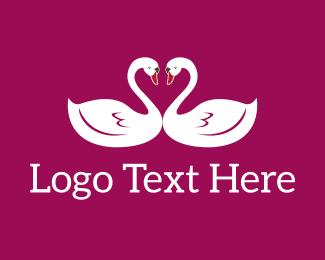 Sweet - Swan Sweet logo design