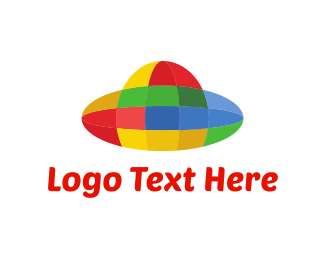 Ufo - Colorful UFO logo design