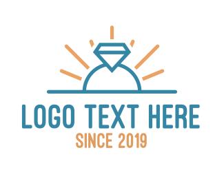 Diamond - Diamond Ring logo design