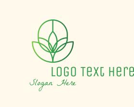 Medical - Natural Plant Garden logo design