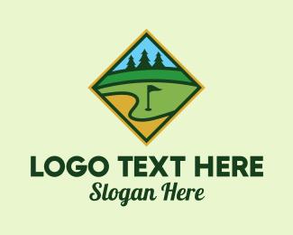 Club - Golf Club Emblem logo design