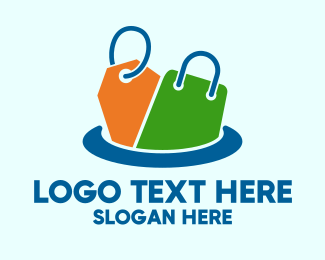 Auction - Retail Price Shopping logo design