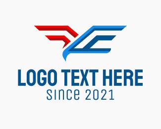 American Eagle - Patriotic Eagle logo design