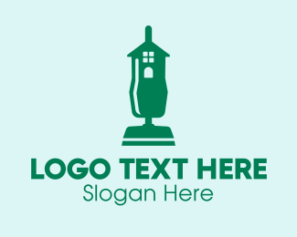 Home Appliances - Home Vacuum Cleaner  logo design