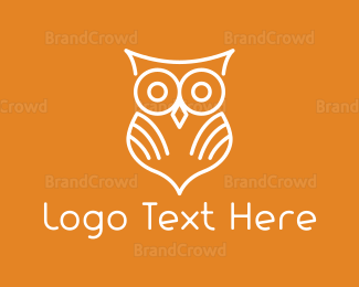 Book Store - White Owl logo design