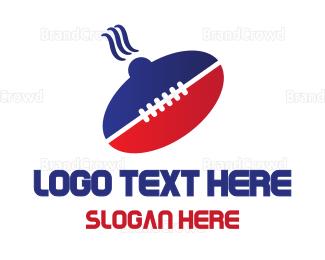 Fast Food - Food Ball logo design