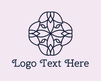 Wellness - Wellness Flower logo design