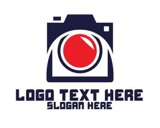Recording - Modern Recording Camera logo design