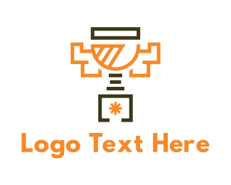 Success - Modern Trophy logo design