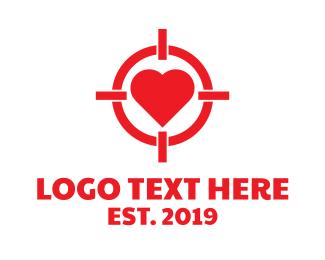 Heart Target Logo