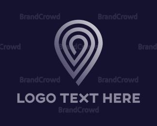 Satellite - Silver Pin Stroke logo design