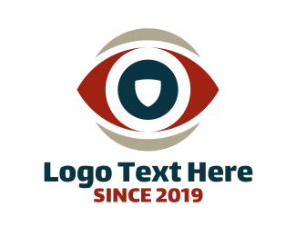 Eye - Eye Shield logo design