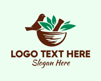 Traditional Medicine - Organic Natural Medicine  logo design