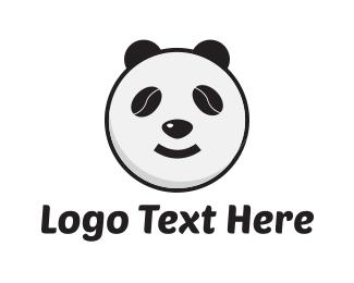 China - Bean Panda logo design