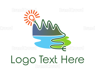Plug - Natural Energy Plug logo design