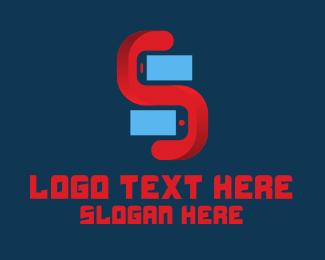Smartphone - Smartphone Store logo design