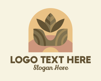 Plant Mom - Indoor Plant Shop  logo design