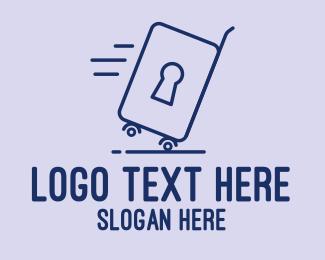Stroller - Luggage Lock  logo design
