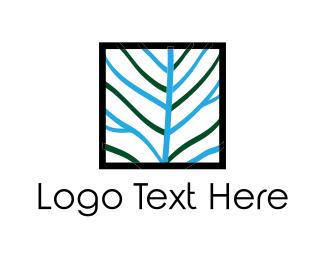 Centered - Square Tree logo design