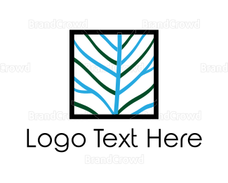 Pebble - Square Tree logo design