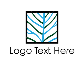 Twig - Square Tree logo design