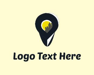 Discover - City Finder logo design