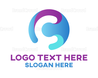 Apparel - Multicolor Circle Letter C logo design