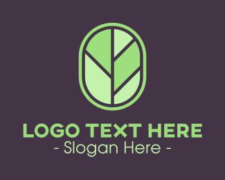 Badge - Tree Leaf Badge logo design