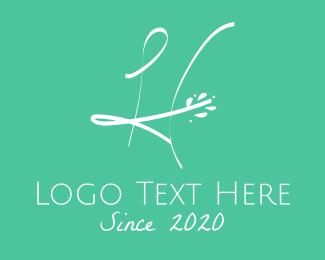 Beauty - Floral Letter H logo design