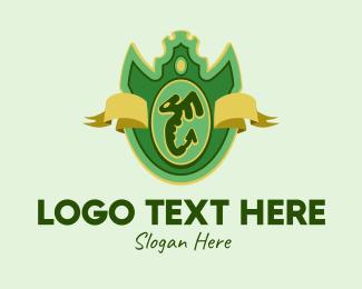 Winged - Winged Serpent Emblem logo design
