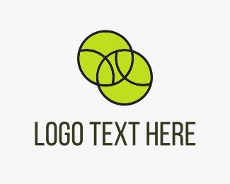 Handball - Tennis Balls logo design