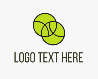 Tennis - Tennis Balls logo design