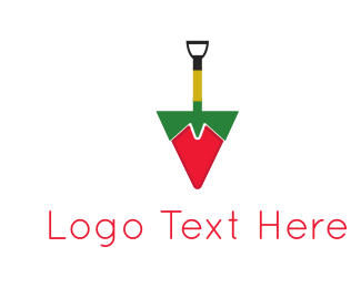 Excavator - Shovel Pepper logo design