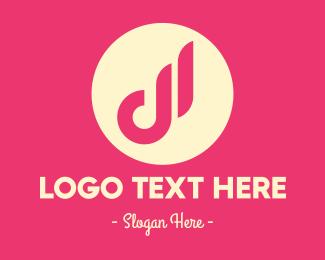 Small Letter B - Fancy Small Letter D logo design