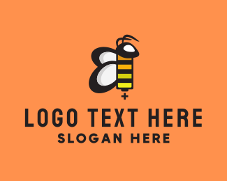 Charger - Bee Battery logo design