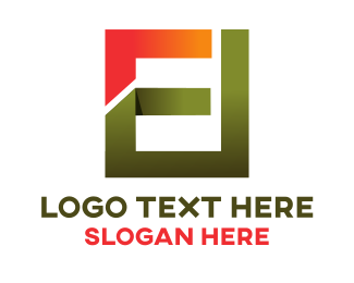 Business Consultant - Abstract E logo design