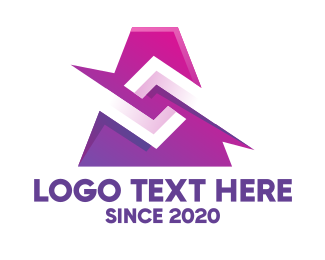 Artistic - Artistic Purple Graphic logo design