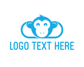 Computer Software - Monkey Cloud logo design