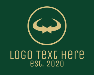 Formal Attire - Elegant Bow Tie logo design