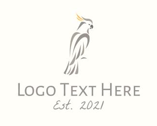 Cockatoo Bird Logo
