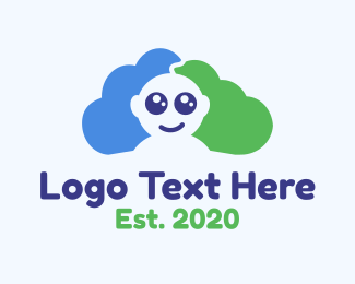 Paternity - Baby Cloud logo design