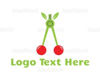 Cherry - Cherry Compass logo design