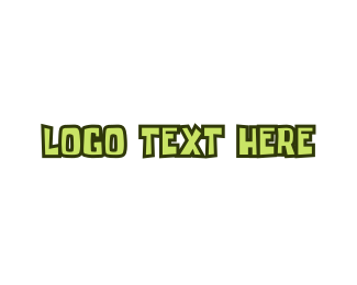 Comic - Green & Childish logo design