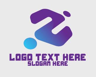 Inverted - Generic Blue Gaming Clan logo design
