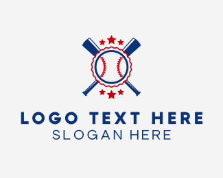 Athlete - Baseball Club logo design