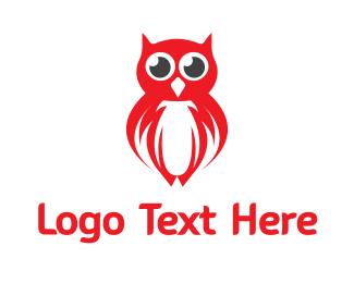 Night Watch - Red Owl Gaming logo design