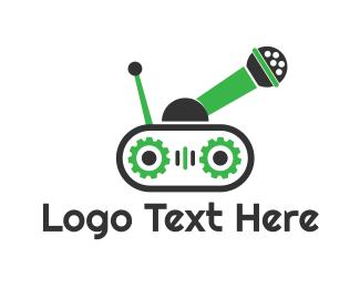 Tank - Audio Tank logo design
