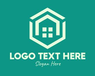 Neighbourhood - Hexagon Home Real Estate logo design