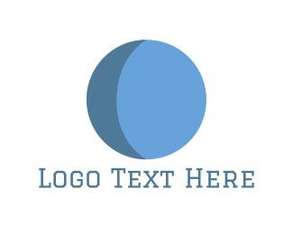 Moon - Blue Moon logo design